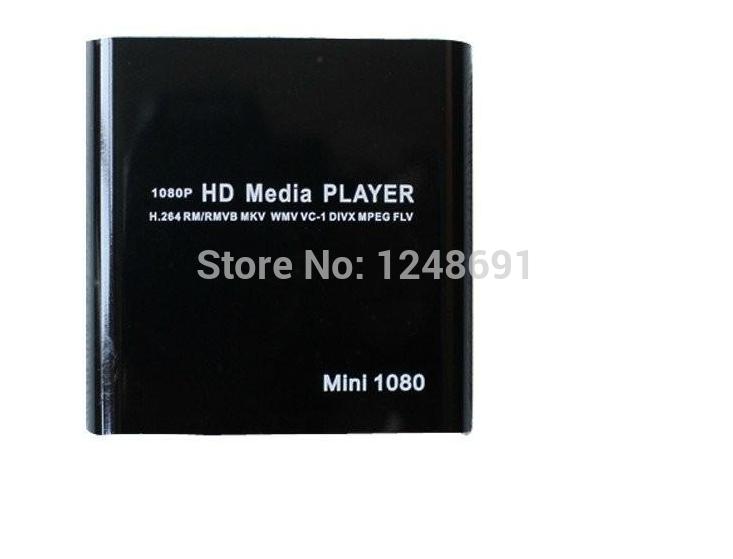 Free shipping New Full HD 1080P USB External HDD Media Player with HDMI SD Support WMV ,DIVX ,FLV MKV H.264 MPEG , RMVB WMV(China (Mainland))