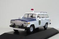 IXO / Altaya 1:43 JEEP WAGONEER keystone state Police car Diecast  car model