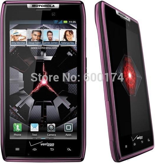 Hot sale unlocked original Motorola DROID RAZR XT912 Android 3G 4GLTE 8MPcamera GPS WIFI refurbished mobile cell phones(China (Mainland))