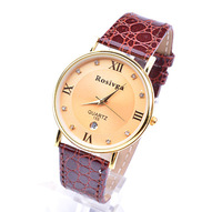 New Fashion Quartz Watch Leather Young Clock ,Men Women Dress Watches Casual Wristwatches Wrist Latest styles water proof