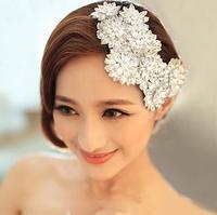 Luxury Crystal Bridal Headdress Rhinestone Wedding Head Jewelry Vintage Hair Accessories Bride Hair Jewelry Headpieces WIGO0310