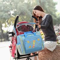 A angel Nappy Bag Fashion Mother Mummy Stroller Bags Large Capacity Baby Diaper Bags Maternity Bolsa Para Bebe  9987