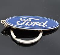 Hot sale Gift Auto Car Keychain Key Chain Keyfob Ford Christmas Logo Badge 3D Metal Ring Keyring Fashion