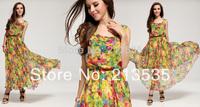 2014 New women's Chiffon vest, holiday dress Free shipping