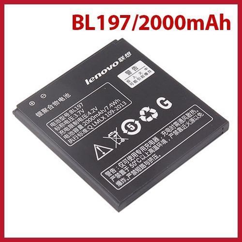 dollarpie Original Lenovo A820 A820T S720 Smartphone Lithium Battery 2000mAh BL197 3 7V Worldwide free shipping