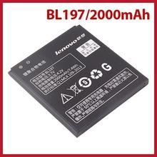 dollarpie Original Lenovo A820 A820T S720 Smartphone Lithium Battery 2000mAh BL197 3.7V Worldwide free shipping