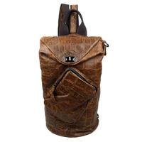 New Vintage Casual Genuine Leather Cowhide Mulit Function Men Travel Backpack Backpacks Shoulder Bag Bags For Men Women 9062