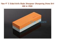 "New 4"" Razor Knife Whetstone 2 Sided Sharpener Sharpening Stone Grit Oilstone Free Shipping!"