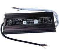 IP67 12V100W Waterproof electronic LED Power Supply/ Led Adapter Lighting Transformer
