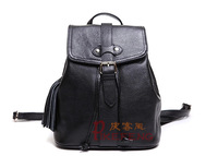 Backpack female preppy style cowhide genuine leather travel bag backpack fresh women's female casual handbag mini vintage bag