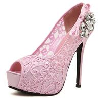 2014NEW High Heel Pump Platform Wedge Women Shoes Sandals Size 34-39 Summer Fashion Tassel Gladiator Sandals For Women