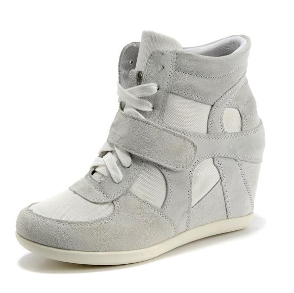 high wedge sneaker