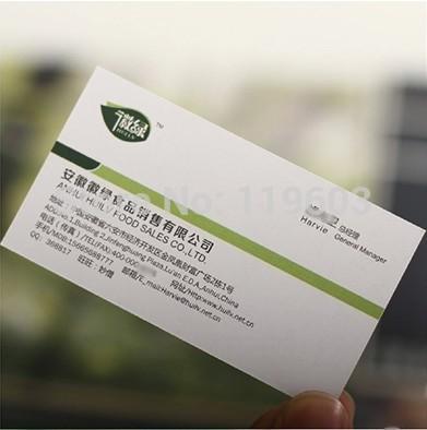 Nouvelle mode 2014 papier personnalisé cartes d'affaire 300 gsm. prix de gros lenny bussiness carte papier d'impression livraison gratuite