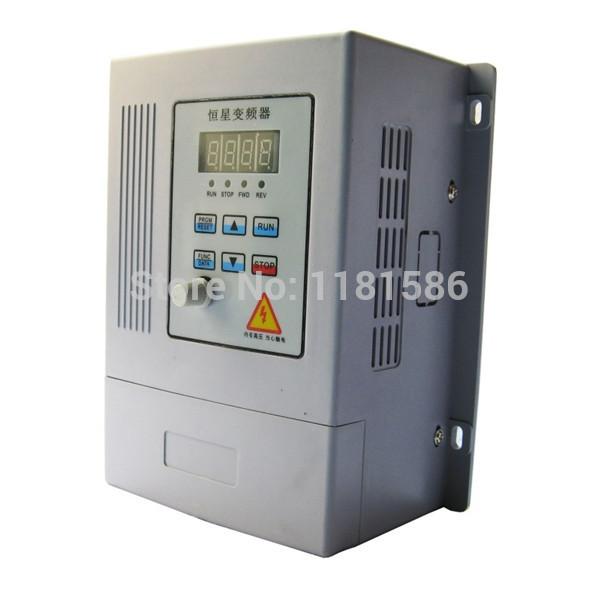 New 0.75Kw inverter simple 0.75 KW inverter input three-phase 380 v, 220 v motor speed(China (Mainland))