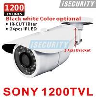 Sony 1200TVL CCTV Outdoor Waterproof Video Surveillance OSD Menu 2.8-12mm Varifocal lens Night Vision IR CCTV security cameras