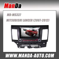 New In Dash Car Radio GPS Navigation DVD CD MP3 Player Ipod For MITSUBISHI LANCER 2007-2012