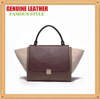 Best Selling Famous Brand Design Shoulder Bag,High Quality Stars Style Genuine Leather Women Bolsa De Ombro,Cowhide Handbag B105