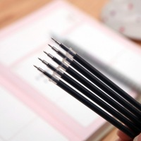 BF010 Stationery half needle for neutral pen core 0.5mm gel pen black ink 13.5cm