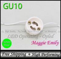 GU10 socket for led bulb lamp GU10 Base type fitting - 10pcs 5.99USD per lot free shipping