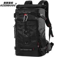 Strengthen edition multifunctional backpack man bag large capacity travel bag backpack waterproof outdoor backpack