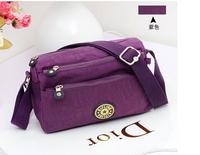 2014 Women Monkey Shoulder Bag Female Handbags Nylon Famous Brand Casual bucket Satchel Bags Clutch satchel