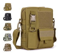 Men and Women Outdoor sports camouflager shoulder cross-body bag casual tactical military Necessary package male messenger bag