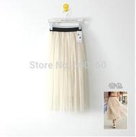 Free Shipping 2013 summer gauze skirt tutu the cents skirts network veil#  5738
