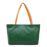 Free shipping 2014 women genuine leather handbag colorful shoulder bag fashion handbag Mother and child totes both two bags