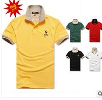 2014 Summer Men TOMY Tshirts For Men Short Sleeve T Shirt Fashion Brand POLO Shirt 100%Cotton