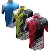 2014 Men Tops T-shirts  Victor men's table tennis men shirt clothing / Badminton T-shirt