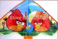 Free shipping high quality lovely birds kites 20pcs/lot  ripstop nylon fabric kite children kites sky lantern for sale