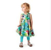 catimini children's clothing girls cotton print dress