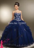 Free Shipping 2014 vestido de novia Bridal Dress Court Train Lace Cap Sleeve Ball Gown color Wedding Dresses Style 5316