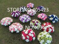 10pcs/lot wedding road lead flower centerpiece flower for wedding decoration