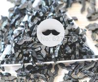 50 Pcs Nail Art 3D Mustache Beads Cute Resin Moustache Gel Acrylic DIY Decor