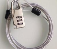 Multi-function wire combination lock Metal household anti-theft lock customs locked doors