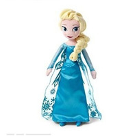 Free EMS 100pcs/lot Frozen doll Princess ELSA Stuffed Plush doll Brinquedos Kids Dolls for Girls Pre-sale,50cm