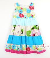 CATIMINI original single children's clothing girls cotton dress harness / vest  princess dress
