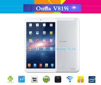Original Onda V819I Quad Core Tablet PC 8 inch IPS HD 1280x800 Android 4.2 Intel Z3735 1.8GHz Bluetooth HDMI 5MP Dual Camera