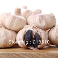FreeShipping Pure Taste 100% 90 Days Fermentation Black Garlic  Anti-cancer  Regulate Blood Sugar Balance Good For Health 500g