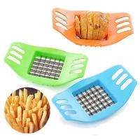 3Pcs / Lot Kitchen Supplies Potato Vertical Cutter Slicer (Random Color)