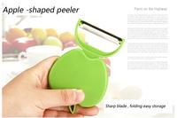 Creative folding fruit peeler apple peeler kitchen essential peelers zesters