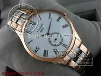 Fashion Mens Rose Gold Roma Designer Men Full Stainless Steel Automatic Watch Brand Luxury Sapphire Men's Mechanical Clock