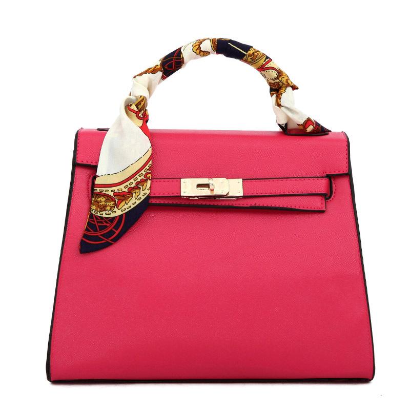 fashion fancy best quality same design as brand name handbag portable useful bag 2014 new big platinum scarf hand bag(China (Mainland))