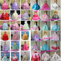 2014 Wholesales 100pieces/lot BJD 1/6 Princess doll dress for For barbie dolls