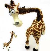 """Madagascar Cute Giraffe Melman Stuffed Toy Plush Doll 14"""" Baby Children"""