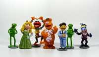 2014  The Muppet Show  Action Figures 10CM PVC 7pcs/set Cute Cartoon Collections  Best Gifts Free Shipping