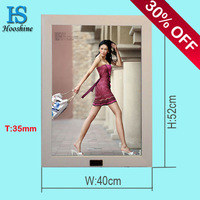 advertise magic mirror light box