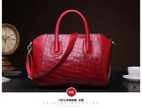 Hot2014 New women handbag fashion brief crocodile pattern shoulder bags women messenger bags women leather handbags leather bags