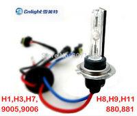 Free Shipping 1pair AC 12V 45W CNLIGHT HID Bulb 6000K Car HID Xenon Bulb H1 H3 H7 H8 H11 9005 9006